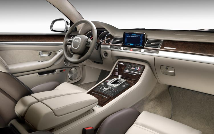 Audi a8 3 for Interieur voiture de luxe