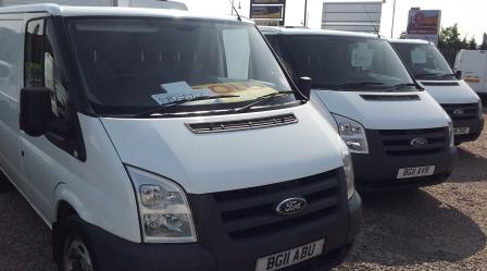 Used Vans at Motoragents
