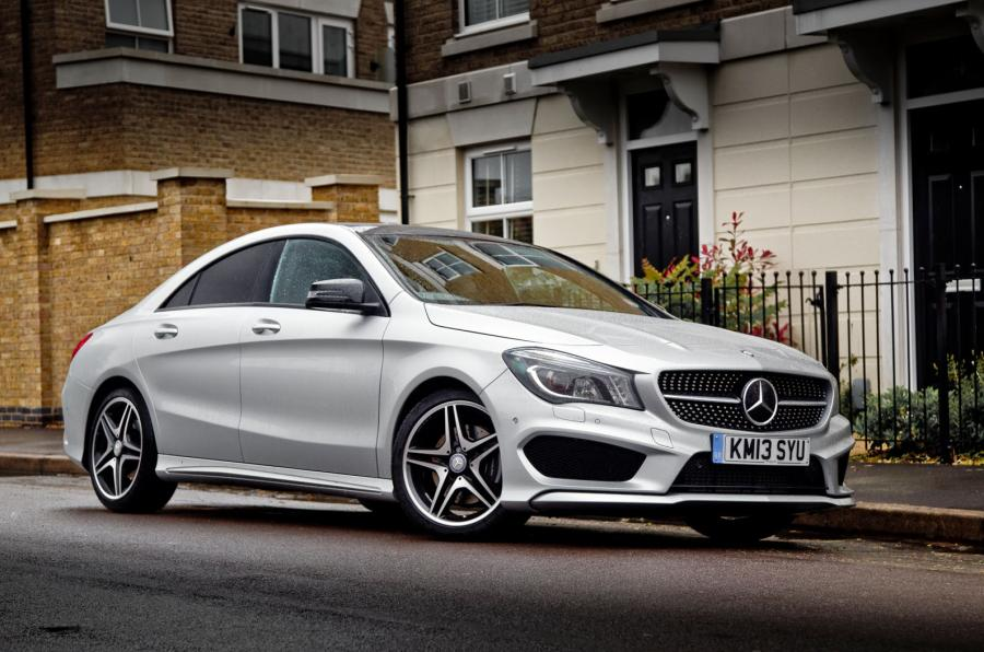 Image gallery merc cla for Mercedes benz cla vs c class